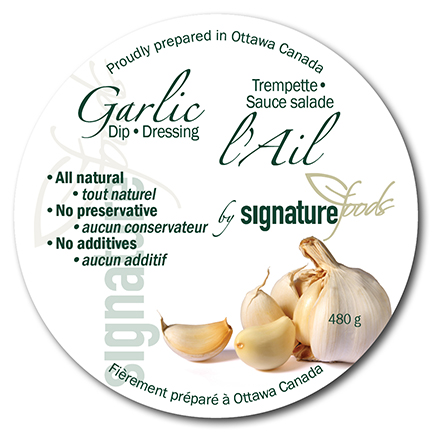 Garlic Label